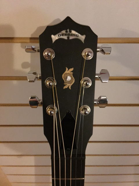 Deering Bostn 6-String Headstock