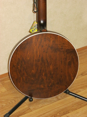 Deering Sierra maple banjo back