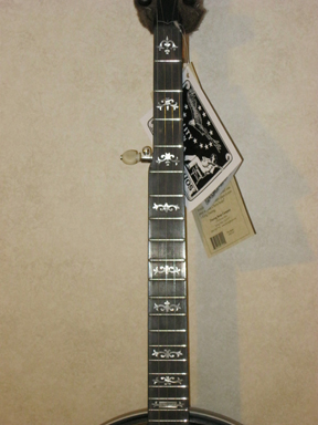 Deering Sierra maple banjo neck