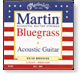 Martin bluegrass guitar strings