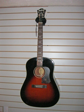Blueridge BG40 guitar front