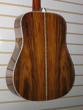 Blueridge BR60 guitar back