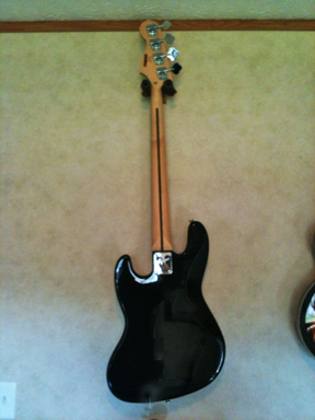 Fender Squire - Black back