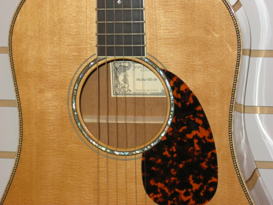 Larrivee SD50 soundhole