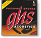 GHS phosphor bronze light strings