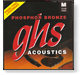 JHS phosphor bronze strings medium