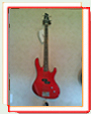 Washburn bass red