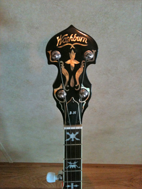 Washburn - B16 headstock