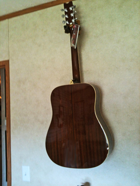 Washburn - D121S/NA back